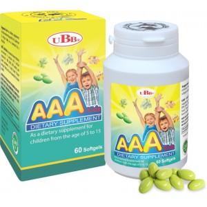 Thực phẩm bảo vệ sức khỏe UBB® AAA Kids