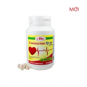 Thực phẩm bảo vệ sức khỏe UBB® COENZYME Q10 (120 mg)